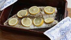Fisch im Ofen mit Zitrone und Rosmarin – Paleo360.de