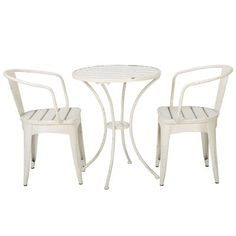 Lark Manor Oritz Indoor 3 Piece Dining Set