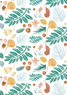 The Removable Leafy Days Wallpaper Designed By Ashley Le Quere Will Create A Stunning Water Coloured Feature Wall. Wall Stickers Wallpaper, Nursery Wall Stickers, Fabric Wallpaper, Doodle Background, Forest Scenery, The Design Files, Traditional Wallpaper, Gold Ink, Textiles