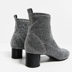 ce6d028a37a SHINY SOCK ANKLE BOOTS-Boots and ankle boots-SHOES-WOMAN