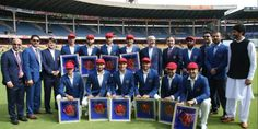 بازی تاریخی کرکت میان افغانستان و هند آغاز شد