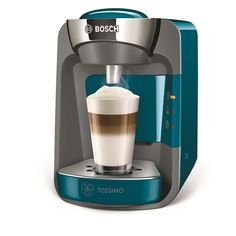 Tassimo Coffee Maker Blue Home Office Hot Drinks Cappuccino Tea Capsules Machine Blue Home Offices, Tassimo Coffee, Keurig, Yummy Drinks, Coffee Maker, Coffee Machines, Thing 1, Cleaning, Tea