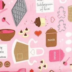 He encontrado este interesante anuncio de Etsy en https://www.etsy.com/es/listing/200885324/pink-little-baker-from-robert-kaufman