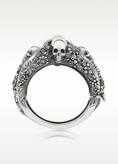 43 #Killer Pieces of Skull #Jewelry to Indulge Your Rock and Roll Side ...