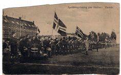 Foto: Ingrid Bonde Nielsen.  Postkort sendt i starten af 1900-tallet.