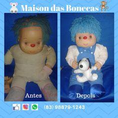 Maison das Bonecas: Restauração do boneco Familião