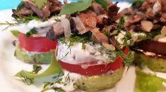 Очень вкусная и быстрая закуска, рецептом которой я с вами сейчас поделюсь, будет замечательно смотреться не только на праздничном, но и на обеденном столе. Ароматные кабачки с помидорами и грибами – это сытное, аппетитное и невероятно красивое блюдо.Башенки из овощей и грибов больше похожи на...