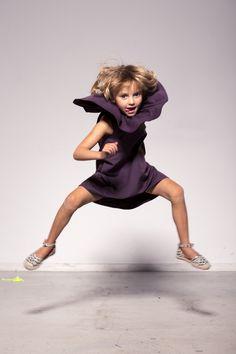 Children's clothing / sleeveless dress with frill / MURASAKI DRESS – a unique product by NIKURRA via en.DaWanda.com Frill Dress, No Frills, Kids Outfits, Unisex, Clothing, Shopping, Etsy, Dresses, Outfits