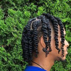 Black Boy Hairstyles, Cornrow Hairstyles For Men, Twist Braid Hairstyles, Dope Hairstyles, African Hairstyles, Hairstyle Ideas, Braid Styles For Men, Hair Twist Styles, Hair And Beard Styles