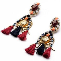 BeOL Elegant Atmosphere Bohemia Style Earrings * You can get more details by clicking on the image.