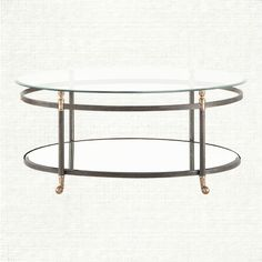 Charlotte Oval Coffee Table