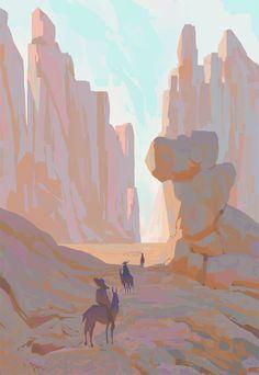 Recent sketches and environments 01 by Slawek Fedorczuk Fantasy Landscape, Landscape Art, Landscape Paintings, Fantasy Art, Landscapes, Landscape Drawings, Landscape Illustration, Digital Illustration, Environment Painting