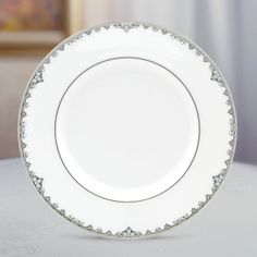 Federal Platinum Accent Plate by Lenox I need 4 more of these.