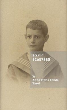 Circa 1900- a young Otto Frank