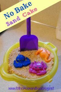 No Bake Sand Cake