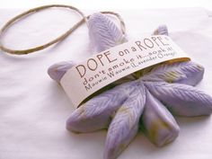 Dope on a Rope Soap - Maui Wowie - Hemp Oil - Lavender Orange Essential Oil - 420 Weed Marijuana Bohemian Gifts - Christmas Stocking Stuffer by DopeOnARopeSoap on Etsy https://www.etsy.com/listing/114581903/dope-on-a-rope-soap-maui-wowie-hemp-oil