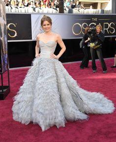 Amy Adams - Óscar de la Renta - Oscar 2013