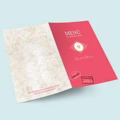 Hochzeitsmenü -Menükarten: Globetrotter im Passport-Reisepass Design. Hochzeitskarten online selbst gestalten