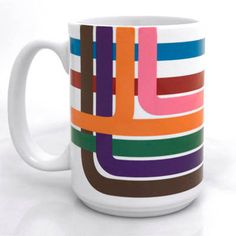 Loop Stripe Coffee Mug, $12.00   18 Totally Awesome Gifts For The Chicagoan In Your Life
