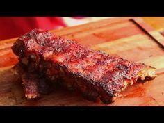 Costillas de Cerdo con Salsa Picante - Receta Locos X el Asado - YouTube Salsa Picante, Meatloaf, Ribs, Summer Recipes, Entrees, Steak, Grilling, Pork, Yummy Food