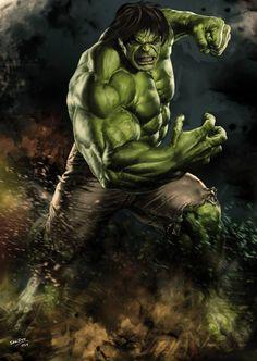 #Hulk #Fan #Art. (The Hulk) By: Das Sauran. (THE * 5 * STÅR * ÅWARD * OF: * AW YEAH, IT'S MAJOR ÅWESOMENESS!!!™)[THANK Ü 4 PINNING!!!<·><]<©>ÅÅÅ+(OB4E)