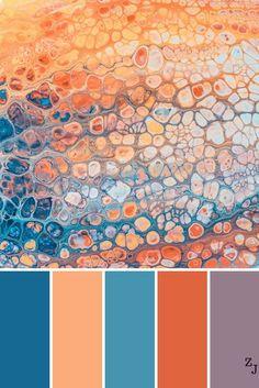 Diamond tufted upholstered Headboard by Malouf ZJ Colour Palette 1191 -ZJ Colour Palette 1191 - Color Schemes Colour Palettes, Colour Pallette, Color Palate, Color Combos, Good Colour Combinations, Summer Color Palettes, Orange Color Schemes, Orange Color Palettes, Blue Colour Palette