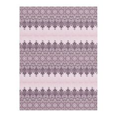 Brown Pink Lace Geometric Fleece Blanket - lace gifts style diy unique special ideas