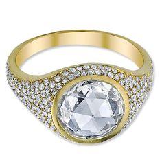 Irene Neuwirth Diamond and Gold Ring