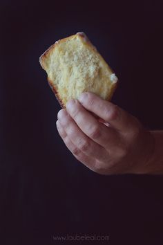 Pan laminado de limón y cardamomo