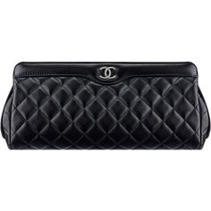 Sac pochette ❤ liked on Polyvore featuring bags, handbags, clutches and chanel