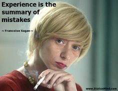 #mistake #experience