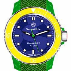 ColourLovers#smoothiewatch#smoothiewatchkorea#Brazil#football#summer#spezialedition#fussball#summerhotitem#