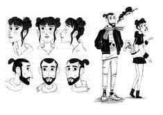 Character design, Modelsheet