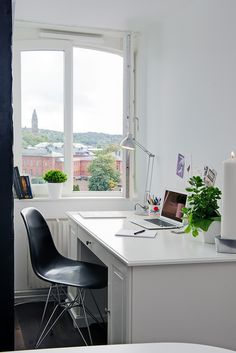 #workingplace #white #view #simple