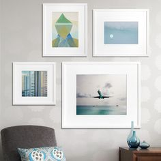 another good frame layout--Fab.com | All For Art, And Art For All