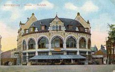 station Rotterdam Hofplein stationsgebouw I La Haye, Small Buildings, Road Trippin, Holland, Amsterdam, Taj Mahal, Mansions, Restaurant, Nostalgia