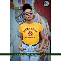 """""""Brown Sugar University"""", tee available now."""