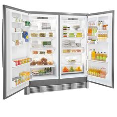 Shop Frigidaire Professional 18.58-cu ft Freezerless Refrigerator (Stainless Steel) at Lowes.com