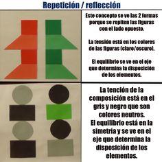 Tema: elementos por compocición (repetición_reflección)