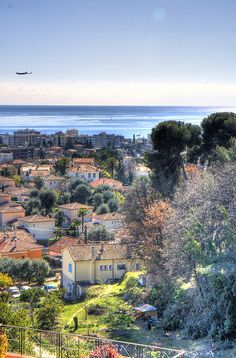 Seaside Village of Cagnes-sur-Mer, Cote d'Azur, France Provence, Places To Travel, Places To Visit, Cagnes Sur Mer, Seaside Village, Photos Voyages, Antibes, French Riviera, South Of France