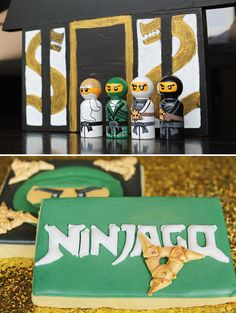 For any little boy (or girl!) who loves Legos, this Ninjago party would be a hit!