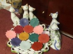 Homemade Scented Soy Candle Tarts/Melts   Shamrocks are by Mylingy, $10.00