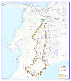 Important points for OMTOM Ultra Marathon entrants: Sport Events, Ultra Marathon, Oceans, South Africa, Map, Location Map, Maps