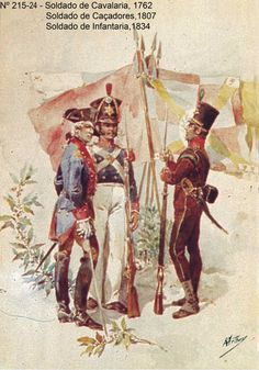 Portuguese Soldiers - 18th and 19th century