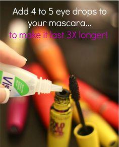 Mascara Beauty Tip