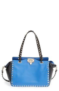 Valentino+'Mini+Rockstud'+Colorblock+Tote+available+at+#Nordstrom