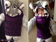 Loua: My daughter, Emmalynn, is the model for this costume. It keeps her nice and warm during this fall while trick-or-treating. Costume was made by me with some nylon fabrics and...