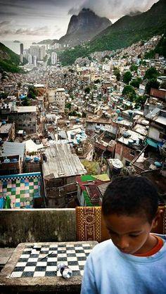Rocinha, na Cidade do Rio de Janeiro.RJ. Brazil