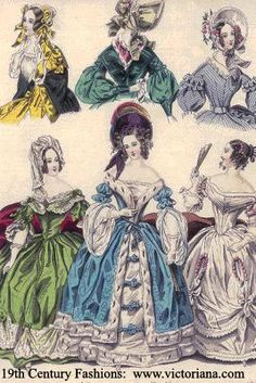 1830's Fashion Plate
