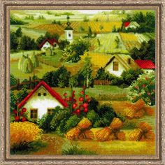 RIOLIS® Country Landscape Counted Cross-Stitch Kit